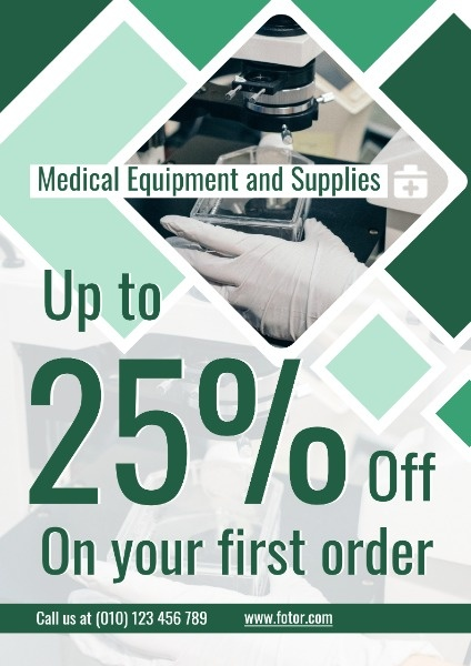 Green Medical Equipment Sale