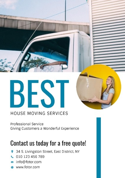 White House Moving Service Ads