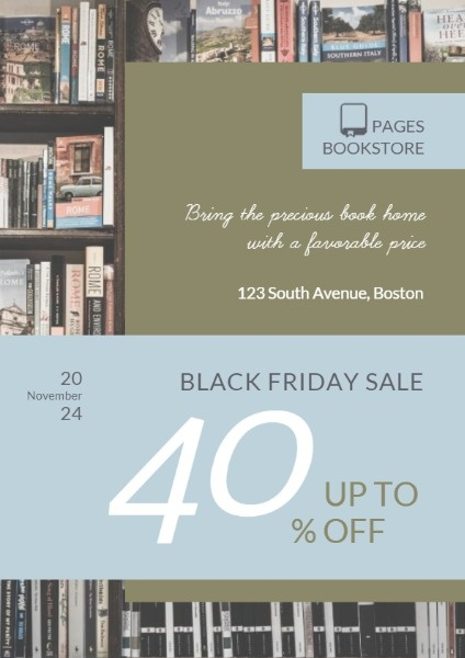 Bookstores Black Friday Sale