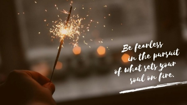Inspiring Firework Quote