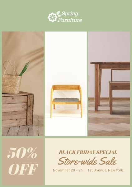 Black Friday Furniture Big Sale