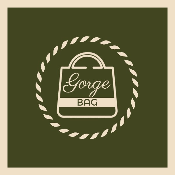 Brown Store Bag Logo