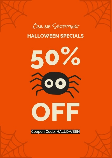 Orange Halloween Super Sale