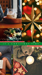 Festive Christmas Collage