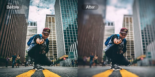 photo blur fotor free online image blur tool fotor photo editor