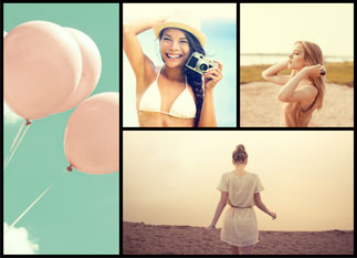 Fotor photo editor Template collage example