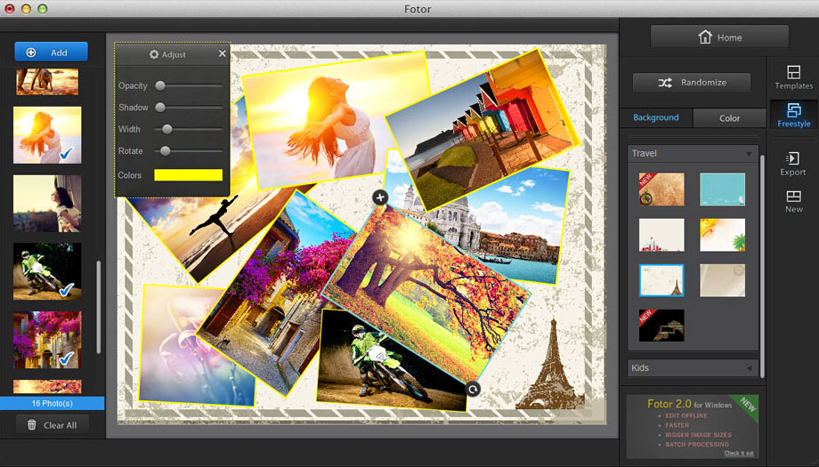 fotor photo editor for mac free download
