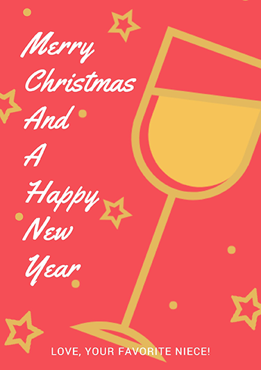 poster maker design christmas and new year poster online for free